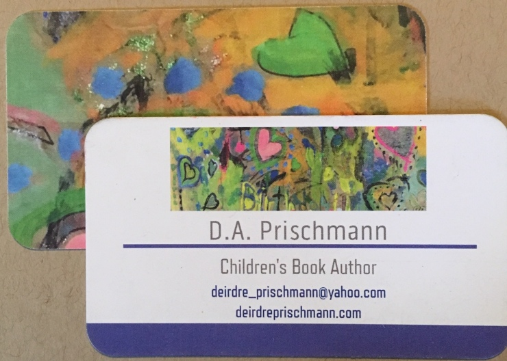 business card author