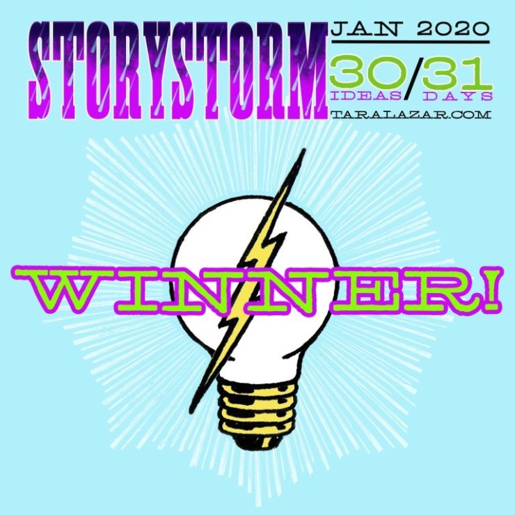 2020 STORYSTORM BADGE